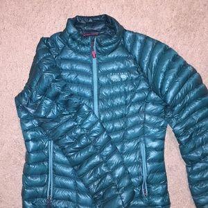 Teal Mountain Hardwear Down Coat